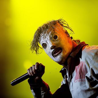 Slipknot's lead singer Corey Taylor has been robbed