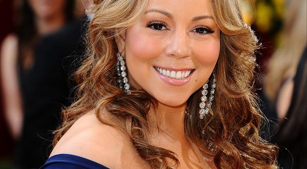 Mariah Carey hurt herself while filming the video for her new single