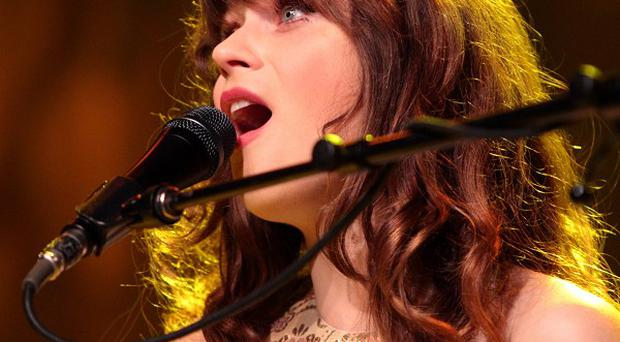 Zooey Deschanel said she uses her imagination for her music