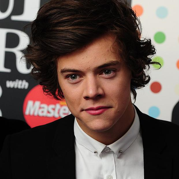 Harry Styles was apparently sick during a One Direction gig in the US