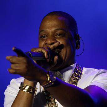 Jay Z performed on the final night of the Yahoo! Wireless Festival, at the Queen Elizabeth Olympic Park in east London