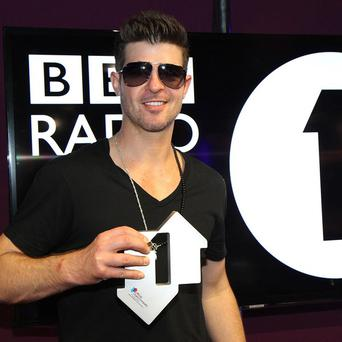 Robin Thicke wants to make fun music these days