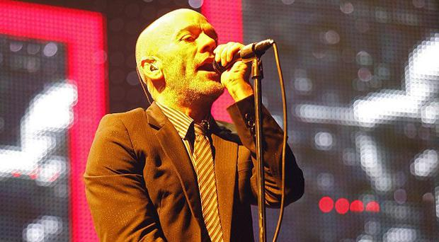 Michael Stipe of REM is a fan of Jay-Z