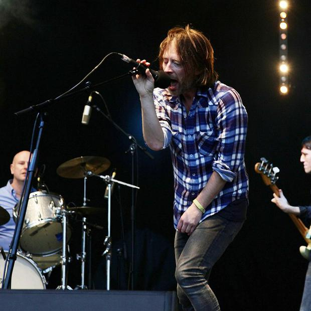 Radiohead recently pulled their music from Spotify