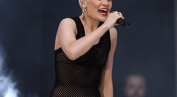 Jessie J wants to say hello to the happy couple