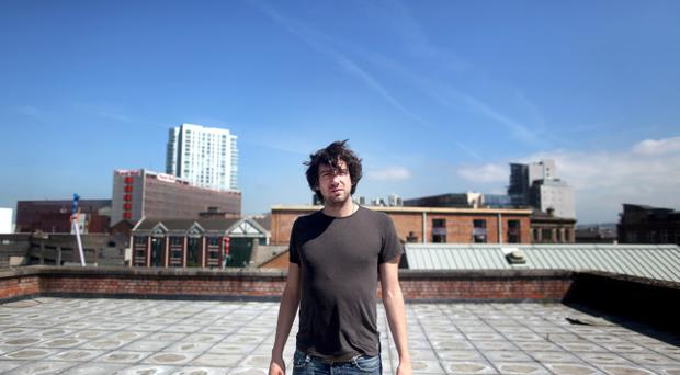 Snow Patrol frontman Gary Lightbody pictured at the Oh Yeah! building in Belfast