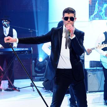 Robin Thicke thinks the time was right for Blurred Lines