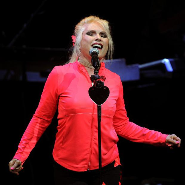 Debbie Harry is the lead singer of Blondie