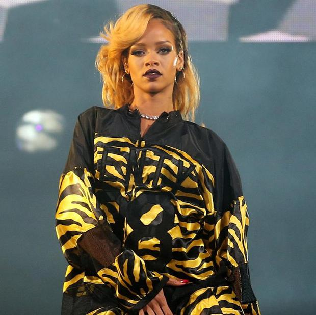 Rihanna is involved in an image rights battle with Topshop