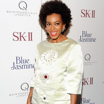 Solange Knowles is working hard on her new album