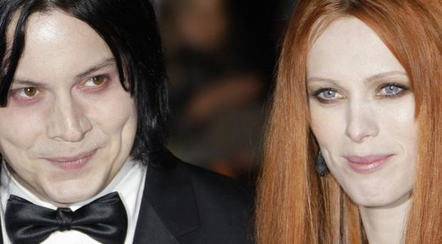 Jack White and Karen Elson separated in 2011 and she filed for divorce last year (AP)