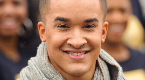 Welsh brothers Richard and Adam Johnson have knocked X Factor runner-up Jahmene Douglas, pictured, off the top of the album chart