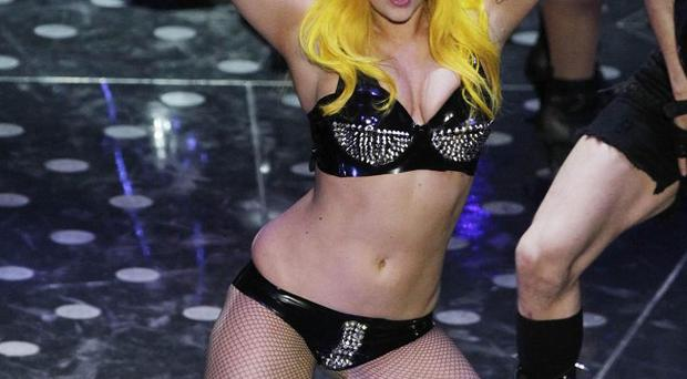 Lady Gaga has always been comfortable baring her body