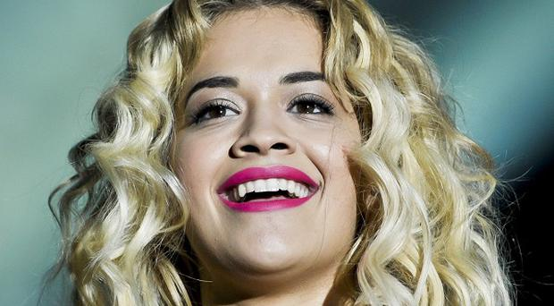 Rita Ora who has pulled out of a live performance at a racing event