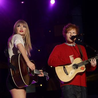 Ed Sheeran likes Taylor Swift's sense of humour