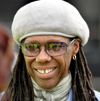 Nile Rodgers been in the studio with Chase And Status