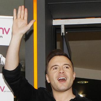 Westlife star Shane Filan is branching out on his own musically