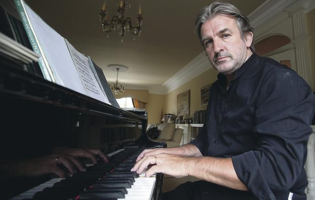 In demand: Barry Douglas combines his career as a world-class concert pianist with his role at the Clandeboye Festival