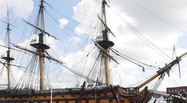 Music-lovers have flocked to a new festival held in the shadow of HMS Victory