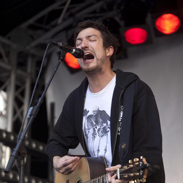 A bad back could not prevent Frank Turner performing at the Reading and Leeds Festival