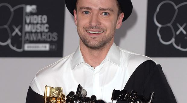 Justin Timberlake took time out from his media tour