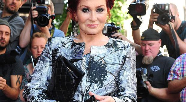 Sharon Osbourne at the X Factor press launch