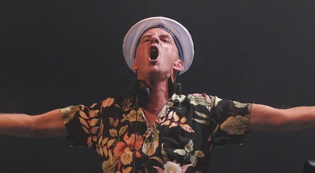 Norman Cook, better know as Fatboy Slim, performs at Bestival