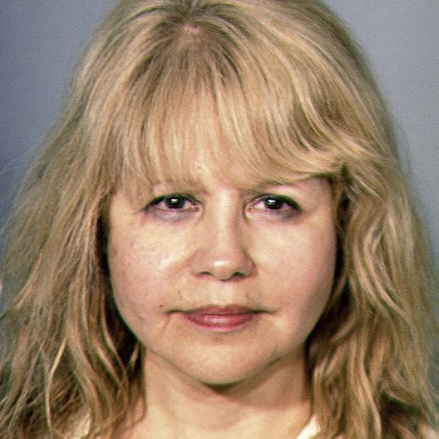 Pia Zadora has been ordered to complete alcohol and impulse control counselling (AP/Las Vegas Metropolitan Police Department)