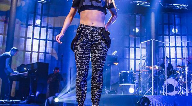 Ellie Goulding performed at the iTunes Festival