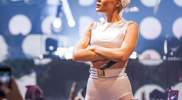 Jessie J performed at the iTunes festival