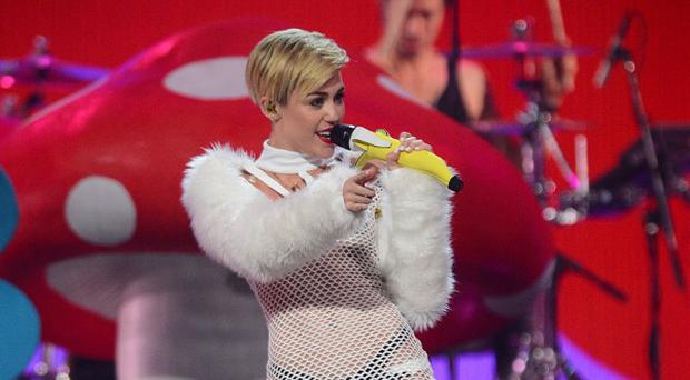 Miley Cyrus has received praise from Simon Cowell