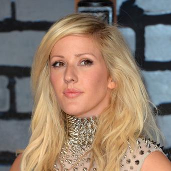 Ellie Goulding said she's thrilled to be singing the Children In Need single