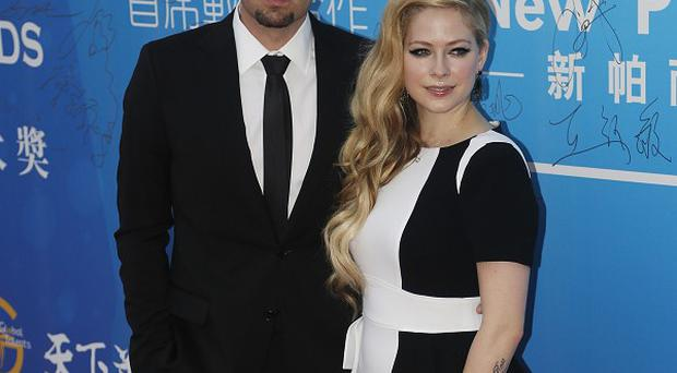 Avril Lavigne and husband Chad Kroeger attended the 10th Huading Awards ceremony in Macau in China