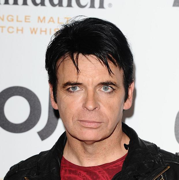 Gary Numan says crippling depression stopped him making music