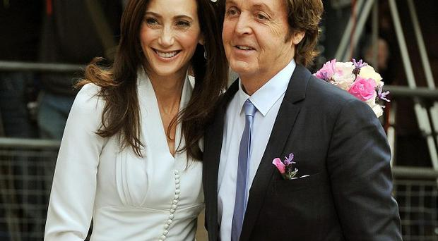 Nancy Shevell and Sir Paul McCartney married in 2011