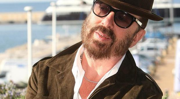 Dave Stewart likes to write music outdoors