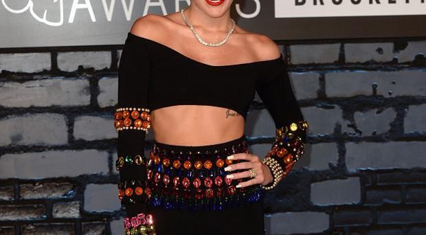 Miley Cyrus thinks she is the best judge of what's current in music