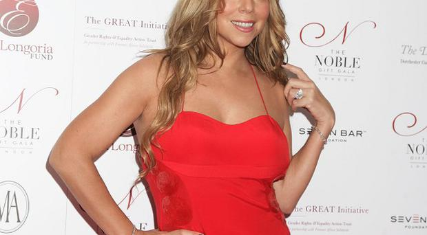 Mariah Carey has been recovering from a shoulder injury