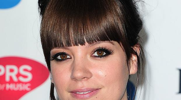 Lily Allen is being linked to the John Lewis Christmas campaign