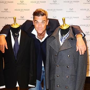 Robbie Williams' foray into fashion has come to an end with his label Farrell closing