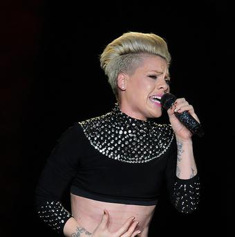 Pink's voice needs a rest after eight months of touring