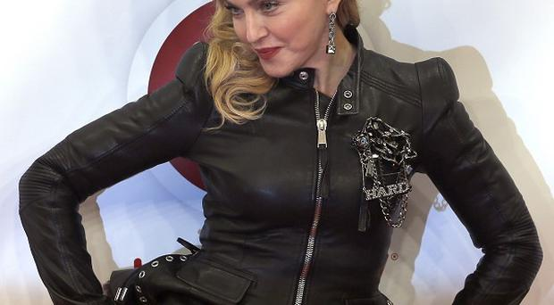 Madonna talked about working out as she opened her new fitness centre in Berlin