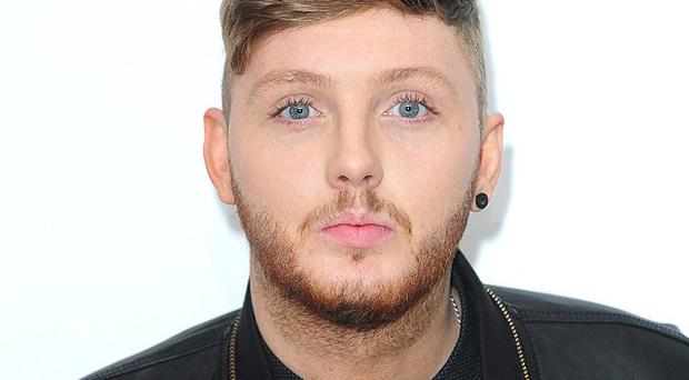 James Arthur is hoping for a number one