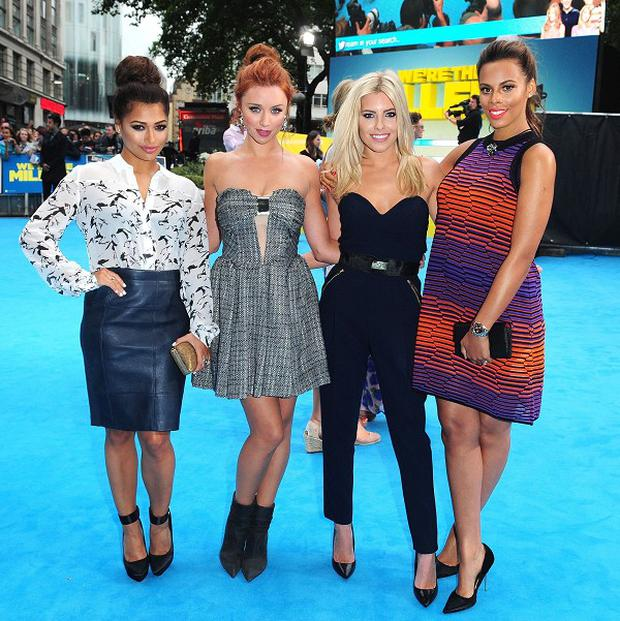 Vanessa White, Una Healy, Mollie King and Rochelle Humes of The Saturdays