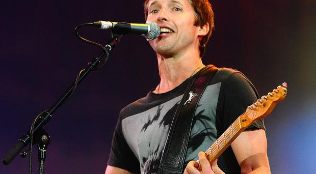 James Blunt says he doesn't mind being a sensitive soul