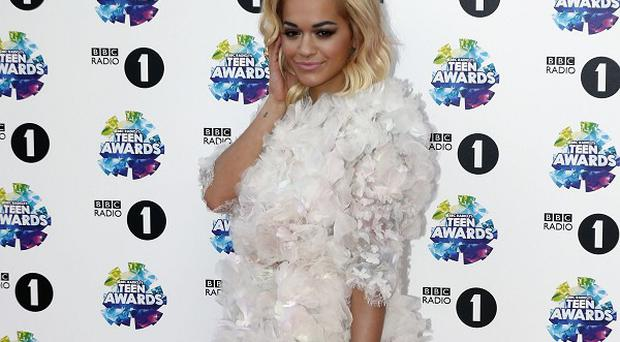 Rita Ora revealed her romance with Calvin Harris is 'going well'