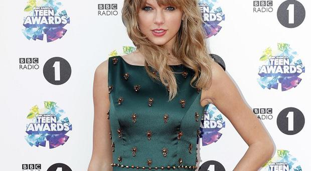 Taylor Swift is happy being single