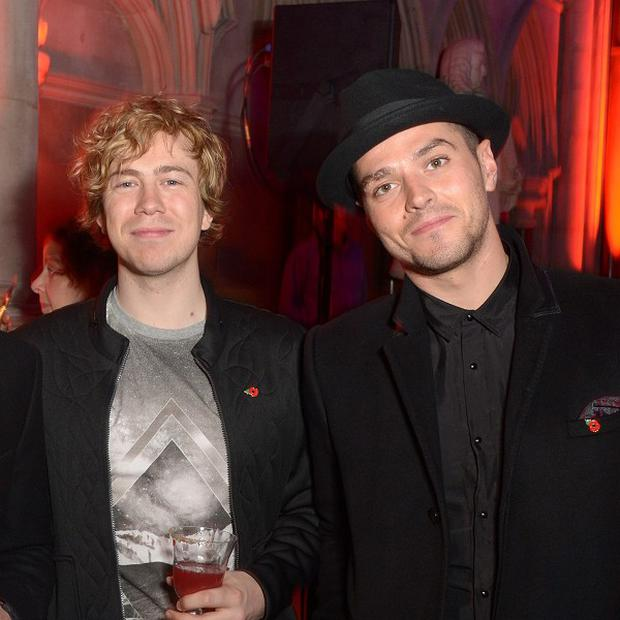 James Bourne and Matt Willis are good friends with Charlie Simpson
