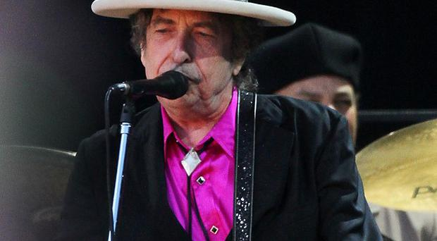 Bob Dylan is making his name in the art world