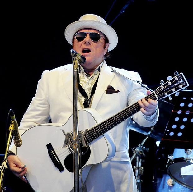 Van Morrison was awarded the freedom of Belfast in his home city